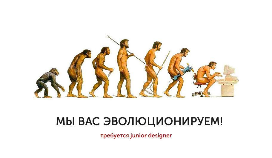 Вакансия: Junior Designer